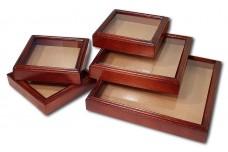 Деревянные рамки из ольхи со стеклом для изготовления сувениров