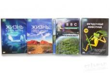 Диск DVD о природе (в ассортименте)