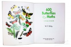 600 Butterflies & Moths in Full Color - W.F. Kirby