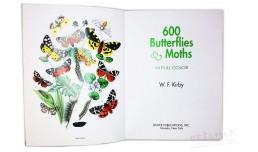 600 Butterflies & Moths in Full Color - W.F. Kirby