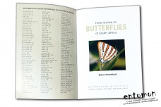 Butterflies of South Africa. A Fild Guide - Steve Woodhall